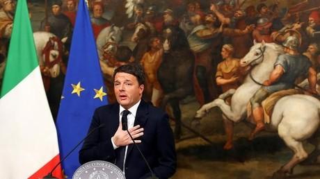 Italienischer Präsident nimmt Matteo Renzis Rücktrittserklärung an