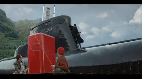 Norwegische Firma zeig russisches U-Boot im Werbespot