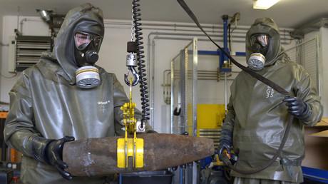 Syrien legt OPCW Beweise für Giftgasangriff durch Terroristen vor (Symbolbild)