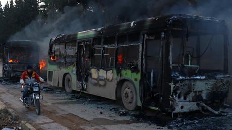 Syrien: Extremisten stören Evakuierung von Zivilisten