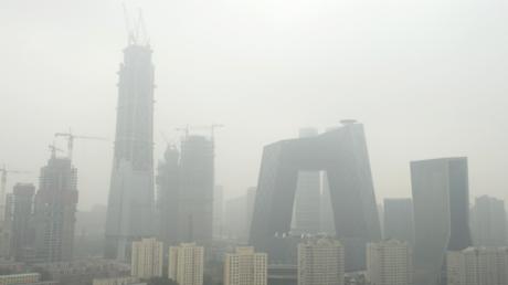 Alarmstufe Rot in Peking wegen extremer Luftverschmutzung