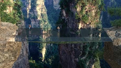Sci-Fi wird wahr: Chinesen wollen unsichtbare Brücke in Avatar-Gebirgen errichten