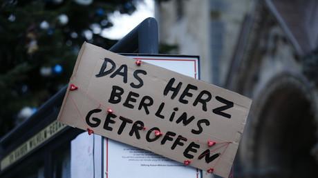 Trauer um die Opfer des Anschlags am Breitscheidtplatz.