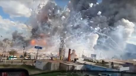Explosionen auf Pyrotechnik-Markt in Mexiko – Mindestens 29 Tote