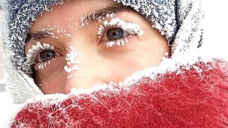 Russland friert ein – Rekord-Frost von -62 Grad im Föderationskreis Ural aufgezeichnet