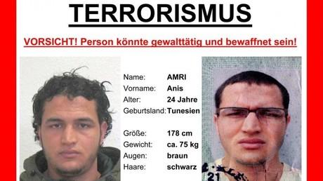 Gesucht: Der mutmaßliche Täter Anis Amri - doch es gibt Unklarheiten in der offiziellen Geschichte.