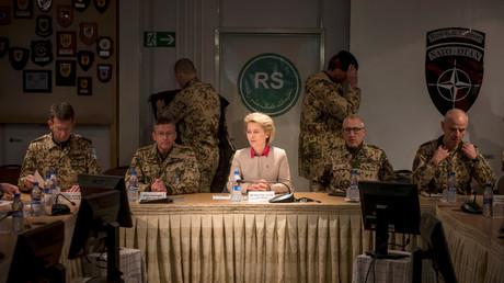 Verteidigungsministerin Ursula von der Leyen in Afghanistan, 22.12.2016.