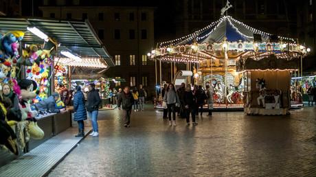 Rom verbietet LKWs im Stadtzentrum wegen Terrorgefahr