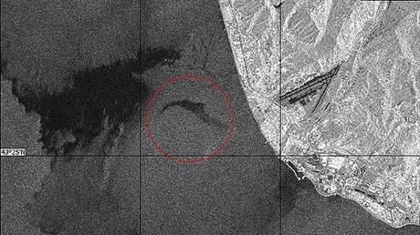 Satellitenbild des Absturzortes der Tu-154 veröffentlicht