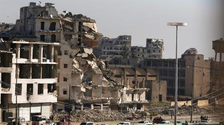Aleppo: Massengräber und sieben riesige Waffenverstecke entdeckt
