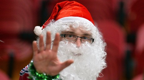 Alter der Entmystifizierung des Weihnachtsmannes bei Kindern festgestellt