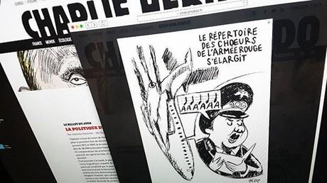 Charlie Hebdo veröffentlicht Karikatur zur Tu-154-Katastrophe