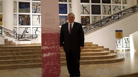 Botschafter Griechenlands in Brasilien wird in Rio de Janeiro vermisst