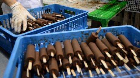 Russische Delikatesse: Rund 700 Tonnen Eis nach China geliefert