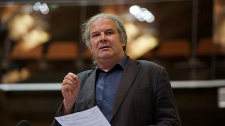 Andrej Hunko (Die Linke) im Europarat. Quelle: http://www.andrej-hunko.de
