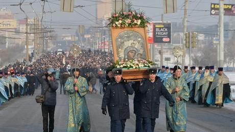 Die orthodoxe Ikonenverehrung als ein Überbleibsel paganer Götzenanbetung?