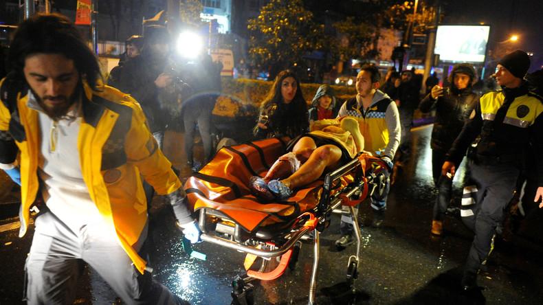 Angriff auf Nachtklub in Istanbul: 39 Tote, 69 Verletzte