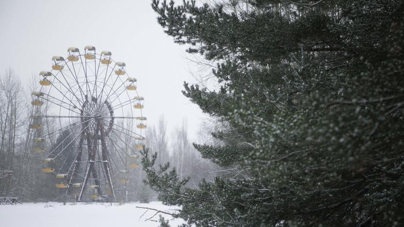 Die ukrainische Polizei hindert vier Touristen daran, Silvester in Tschernobyl zu feiern