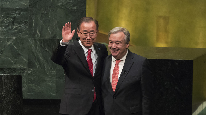 António Guterres wird UN-Generalsekretär