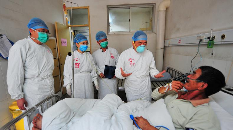 Chinese steckt sich mit Vogelgrippe an