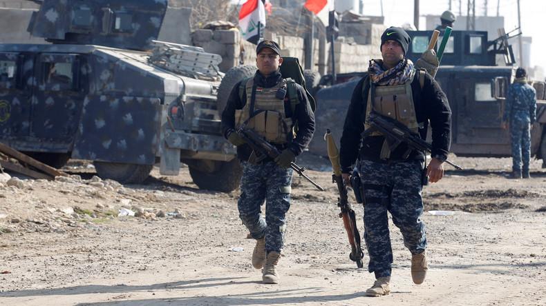 Irakische Militärs befreien weite Teile von Ost-Mossul