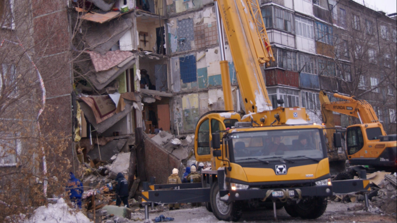 Hauseinsturz in Kasachstan: Mindestens neun Tote und zwei Verletzte