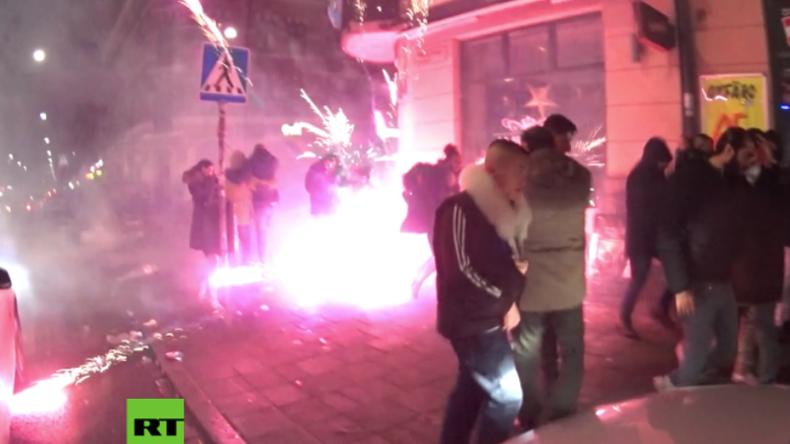Kontrollverlust in der Silvesternacht: Chaotische Straßenschlachten mit Feuerwerkskörpern in Malmö