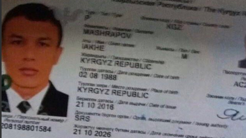Bürger Kirgisistans als mutmaßlicher Attentäter von Istanbul identifiziert