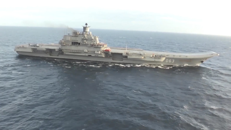 """Russischer Flugzeugträger """"Admiral Kusnezow"""" schließt Einsatz im Mittelmeer ab"""