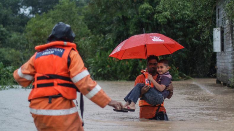 Malaysia: Tausende Menschen wegen Hochwasser evakuiert