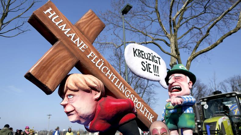 Merkel gerät ins Wanken...