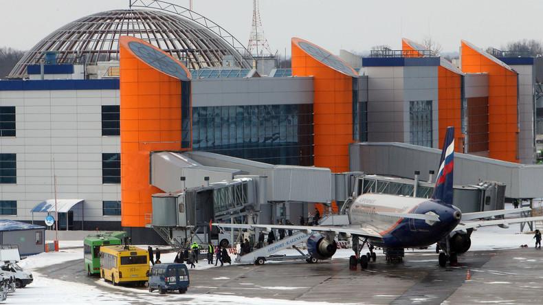 Flughafen Kaliningrad wegen Flugzeugpanne vorübergehend geschlossen