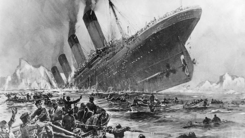 Neue wissenschaftliche These: Großfeuer nicht Eisberg verantwortlich für Untergang der Titanic