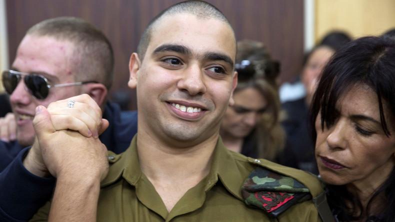 Israelischem Soldaten drohen wegen Kopfschuss auf Palästinenser am Boden 20 Jahre Haft