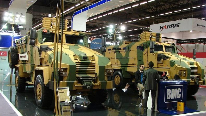 Rüstungsdeal: Berlin will mittels türkischem Joint Venture 1.000 Panzerfahrzeuge an Katar verkaufen