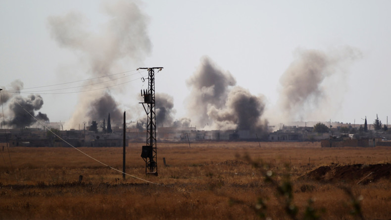 Türkische Militärs töten 38 IS-Kämpfer in Syrien