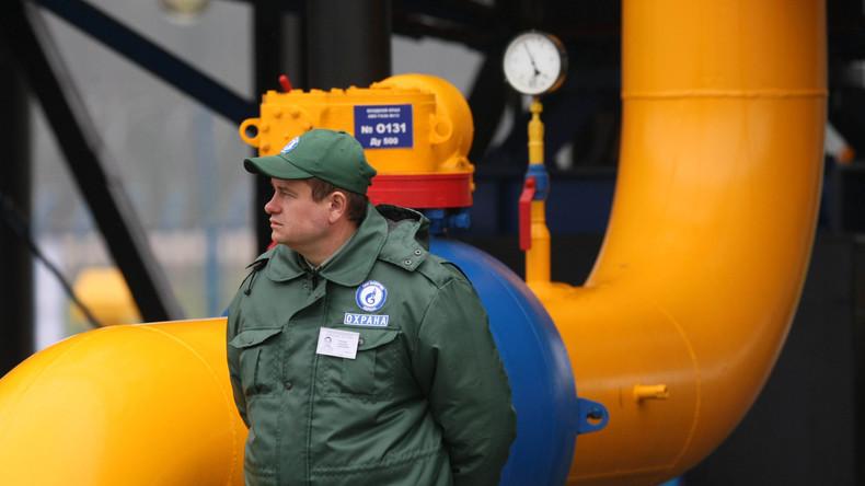 """""""Naftohas Ukrajiny"""" befürchtet Transitstopp für russisches Gas"""