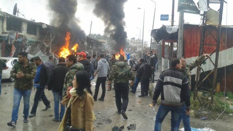 Mindestens elf Menschen sterben bei Terroranschlag im syrischen Dschabla