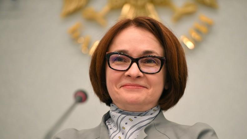 """Leiterin der russischen Zentralbank zur """"European Banker of the Year"""" gekürt"""