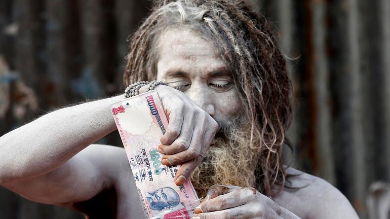 Indiens Feldzug gegen das Bargeld - Die USA ziehen die Fäden
