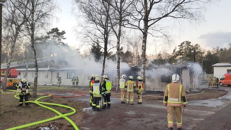 NRW: Fünf Verdächtige nach dem Brand in Flüchtlingsunterkunft festgenommen