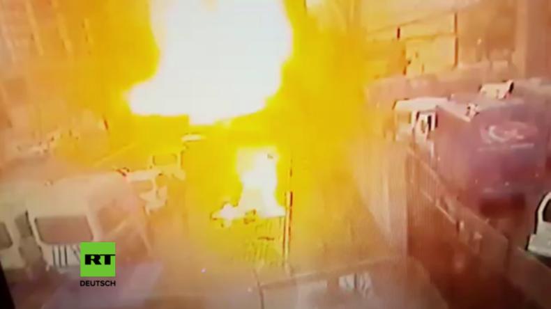 Terrorwelle in der Türkei ebbt nicht ab - Jüngster Anschlag in Izmir auf Video festgehalten