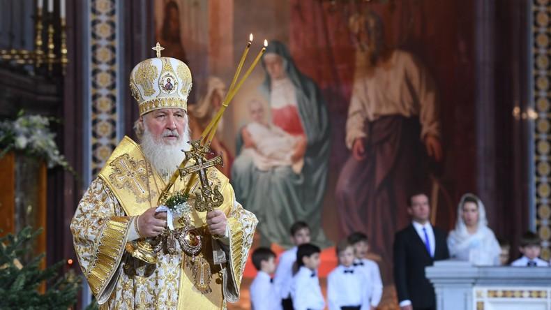 Russisch-Orthodoxe Kirche feiert Christi Geburt