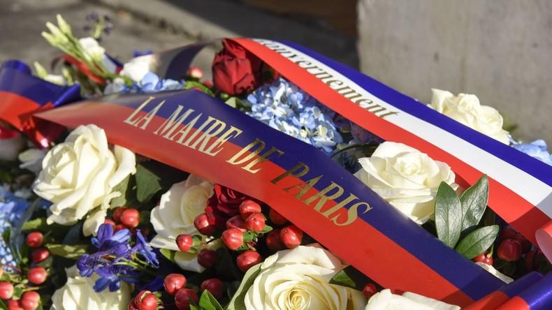 """Frankreich gedenkt der Opfer des Anschlags auf """"Charlie Hebdo"""""""