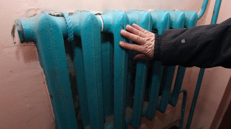 Zentralheizung geht bei -30°C in knapp 60 Häusern bei Moskau kaputt