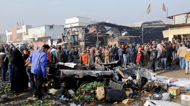 Terroranschlag in Bagdad fordert mindestens zwölf Menschenleben