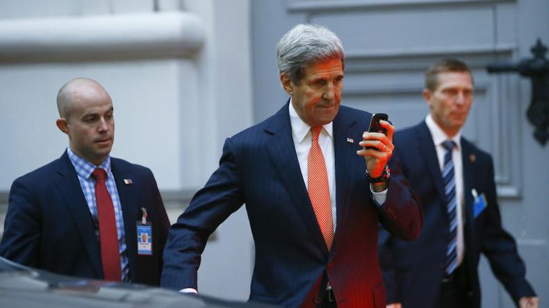 John Kerry kritisiert Donald Trump wegen Twitter-Nutzung