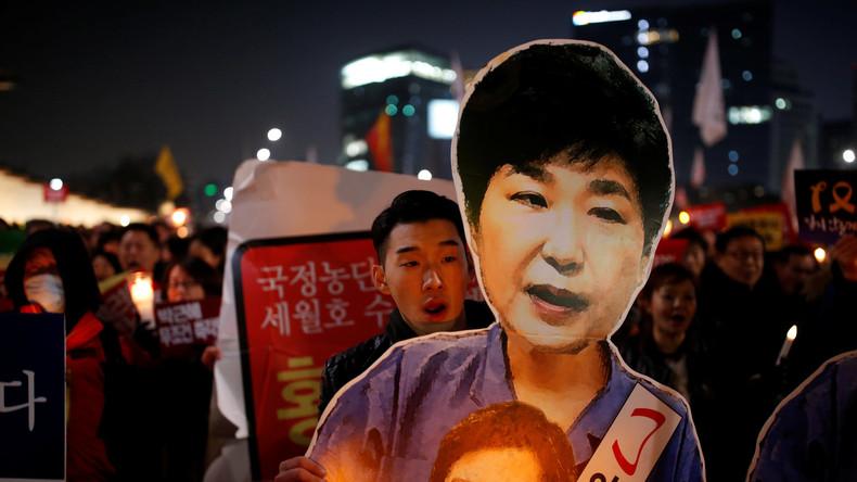 Buddhistischer Mönch setzt sich bei Protestaktion in Seoul in Brand