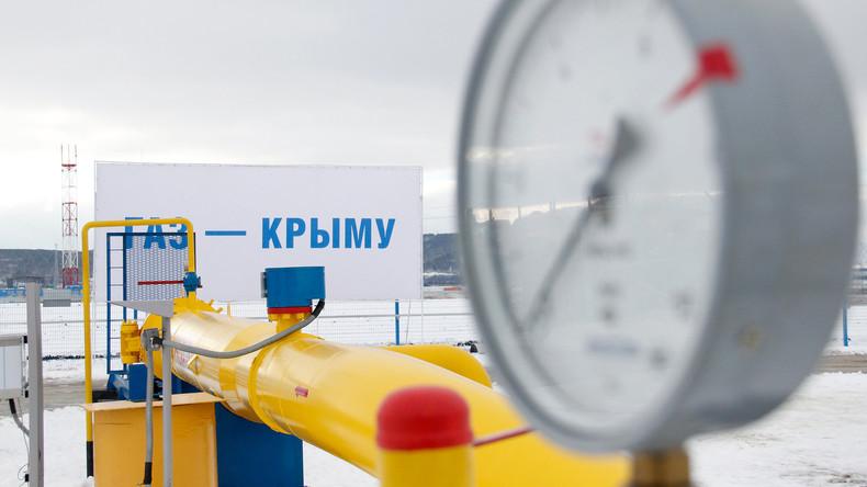 Russland beginnt mit Gas-Lieferungen für die Krim aus dem Gebiet Kuban
