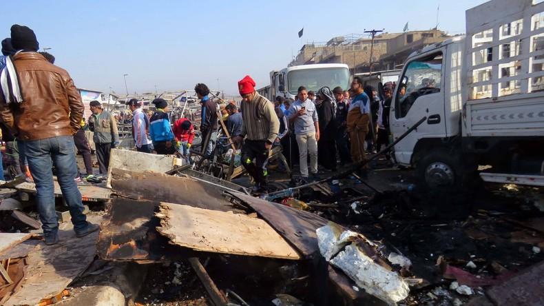Zweite Explosion in Bagdad tötet mindestens zehn Menschen